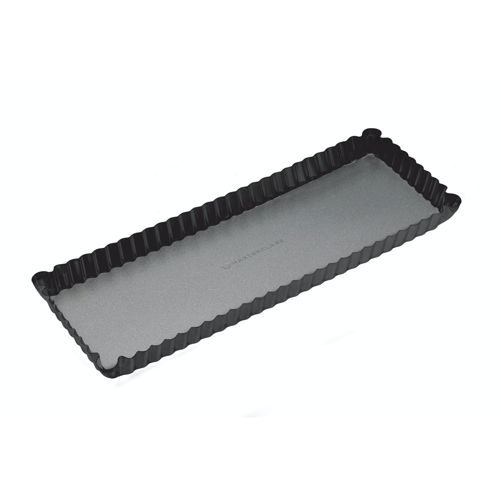 Rectangular Fluted Flan tart tin