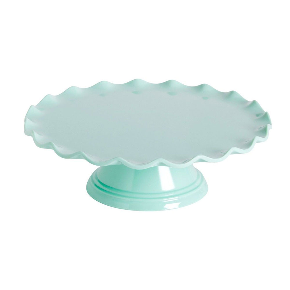 mint cake stand wave