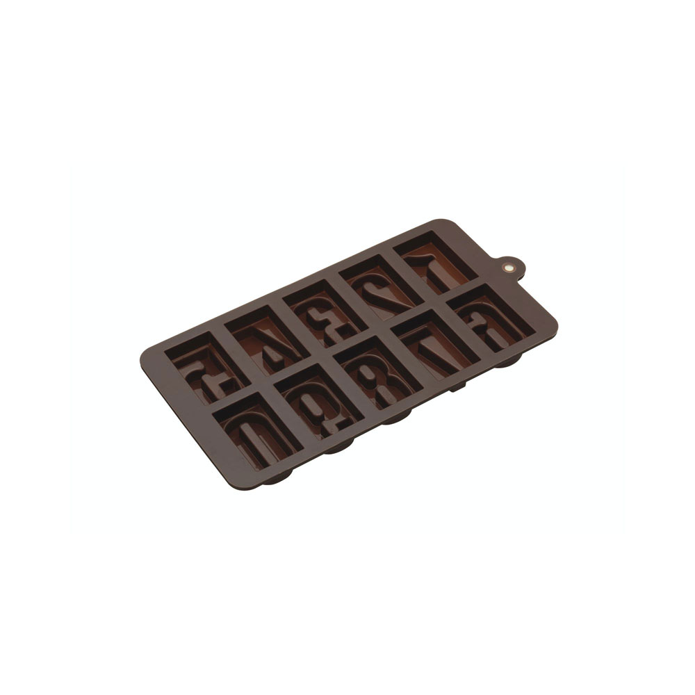 number chocolate mould