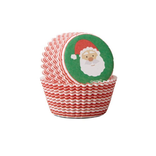 santa cupcake mini