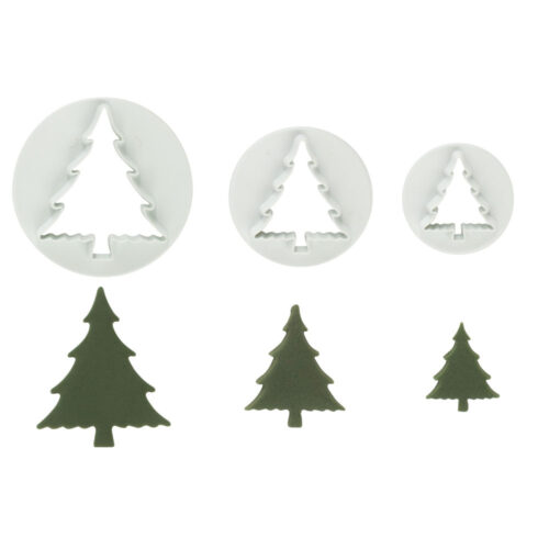 set of 3 christmas tree cutter