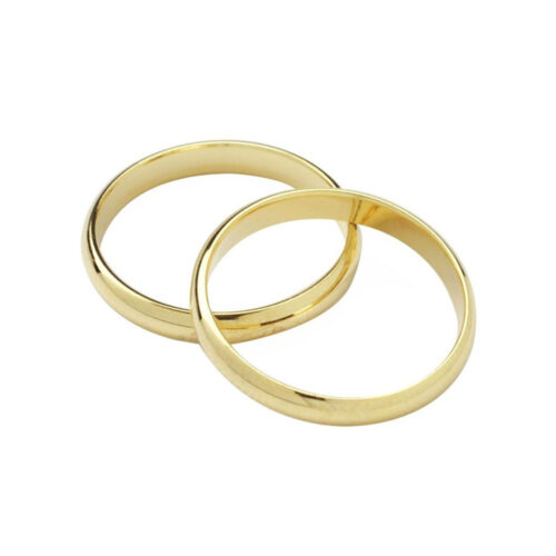 wedding band gold