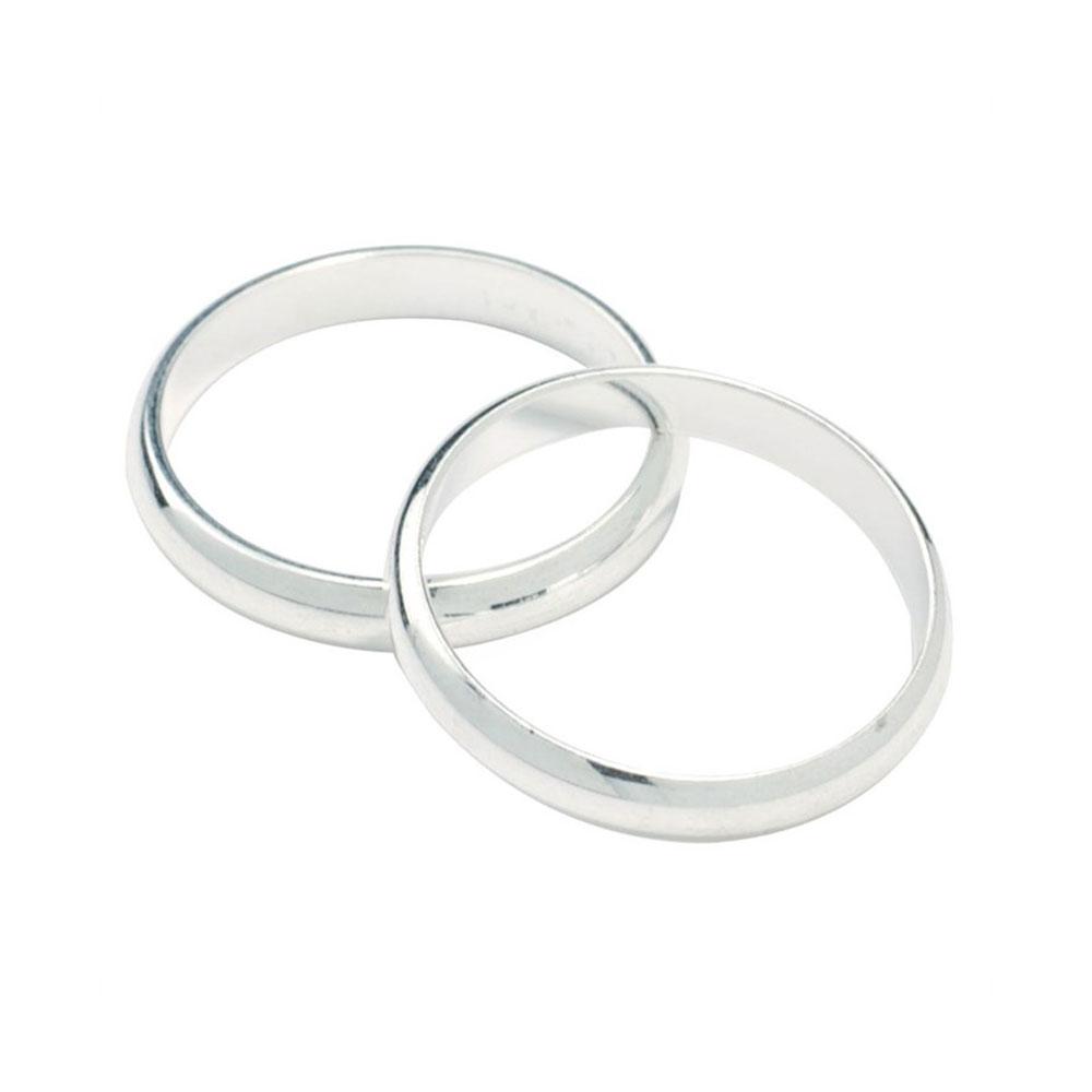 wedding band silver