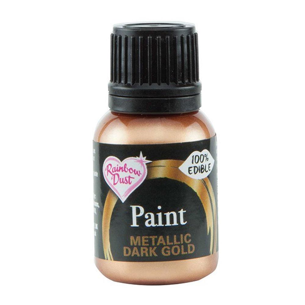 dark gold paint