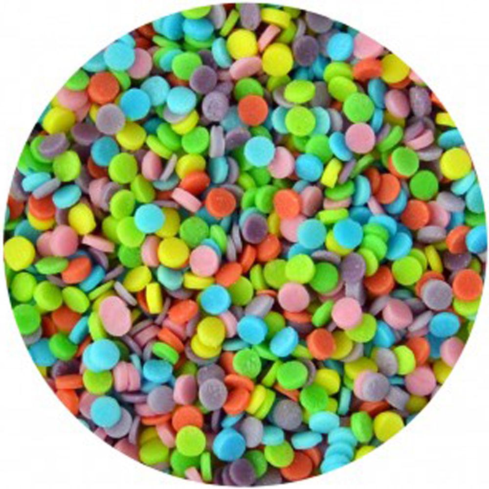 confetti rainbow