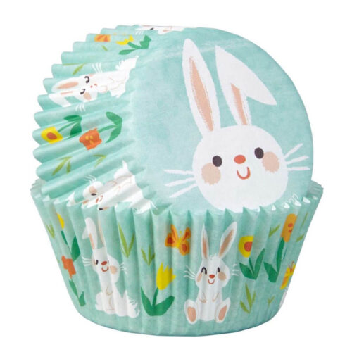 bunny cupcake cases