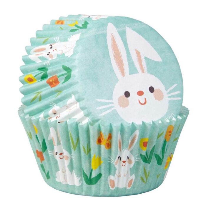 bunny cupcake cases