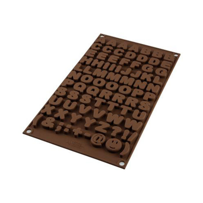 chocolate mould letters