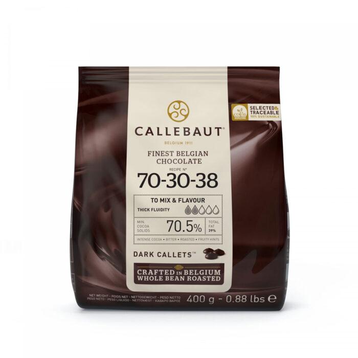 callebaut dark chocolate 400g