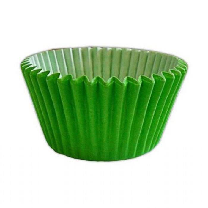 lime green cupcake case