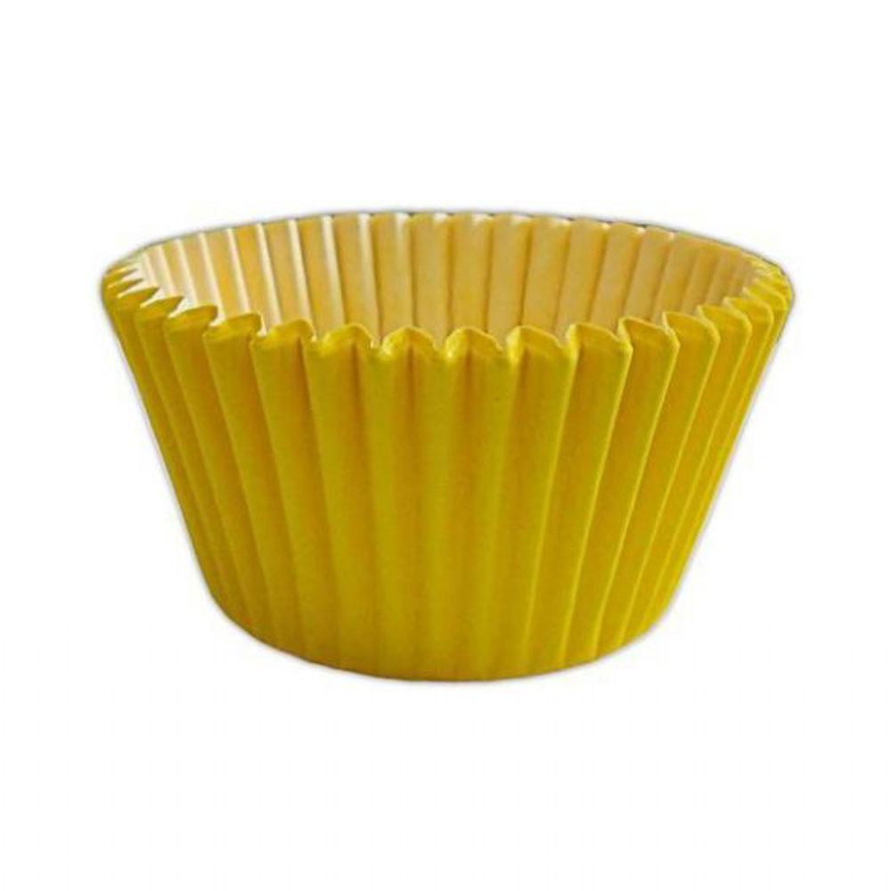 yellow cupcake case