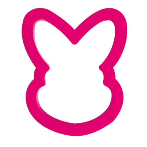 decora easter bunny cookie cutter