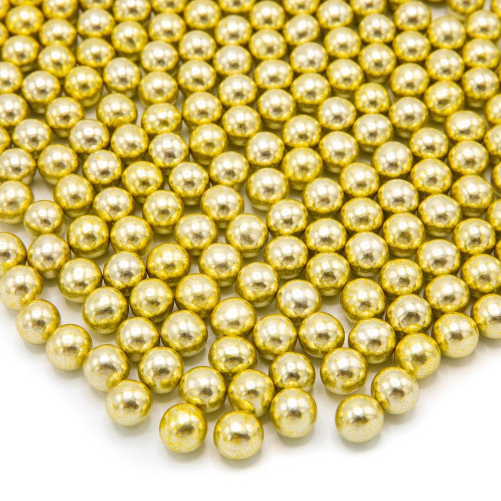 Happy sprinkles gold chocolate metallic M