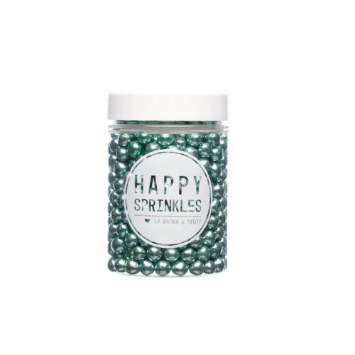 happy sprinkles green chocolate pearls
