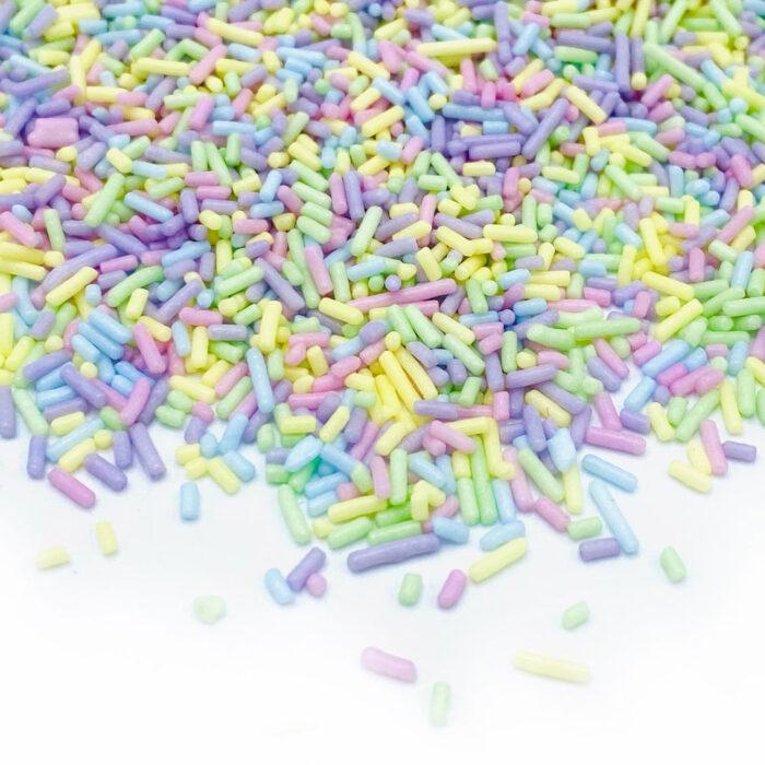 pastel sugar strands happy sprinkles
