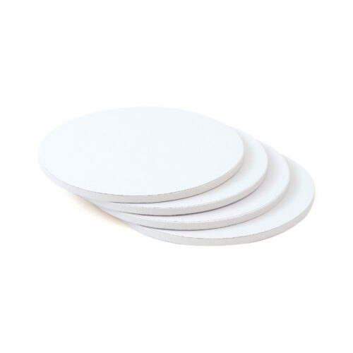 white cake drum board