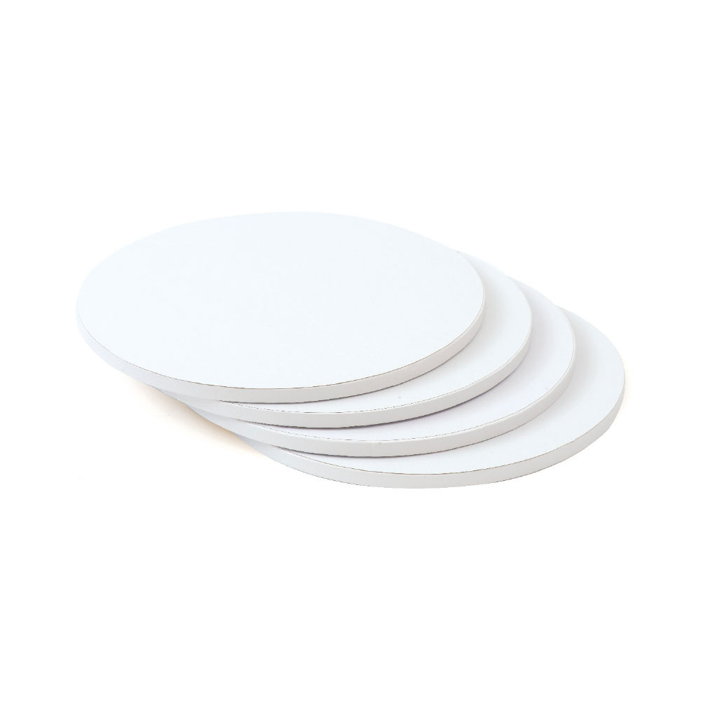 white cake drum board