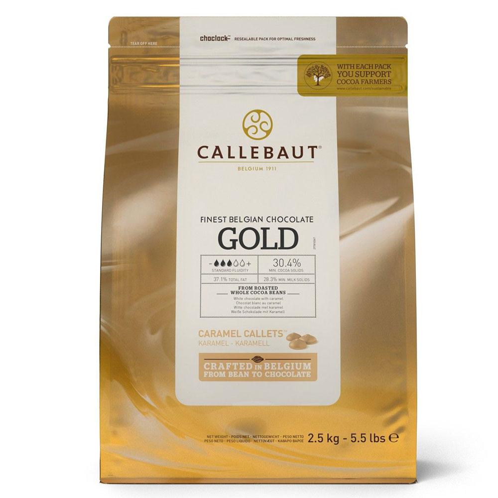 callebaut caramel gold chocolate