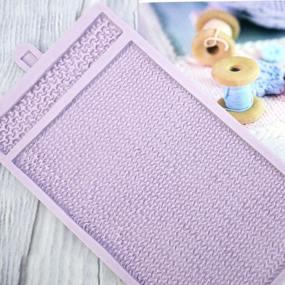karen davis knitted piece mould