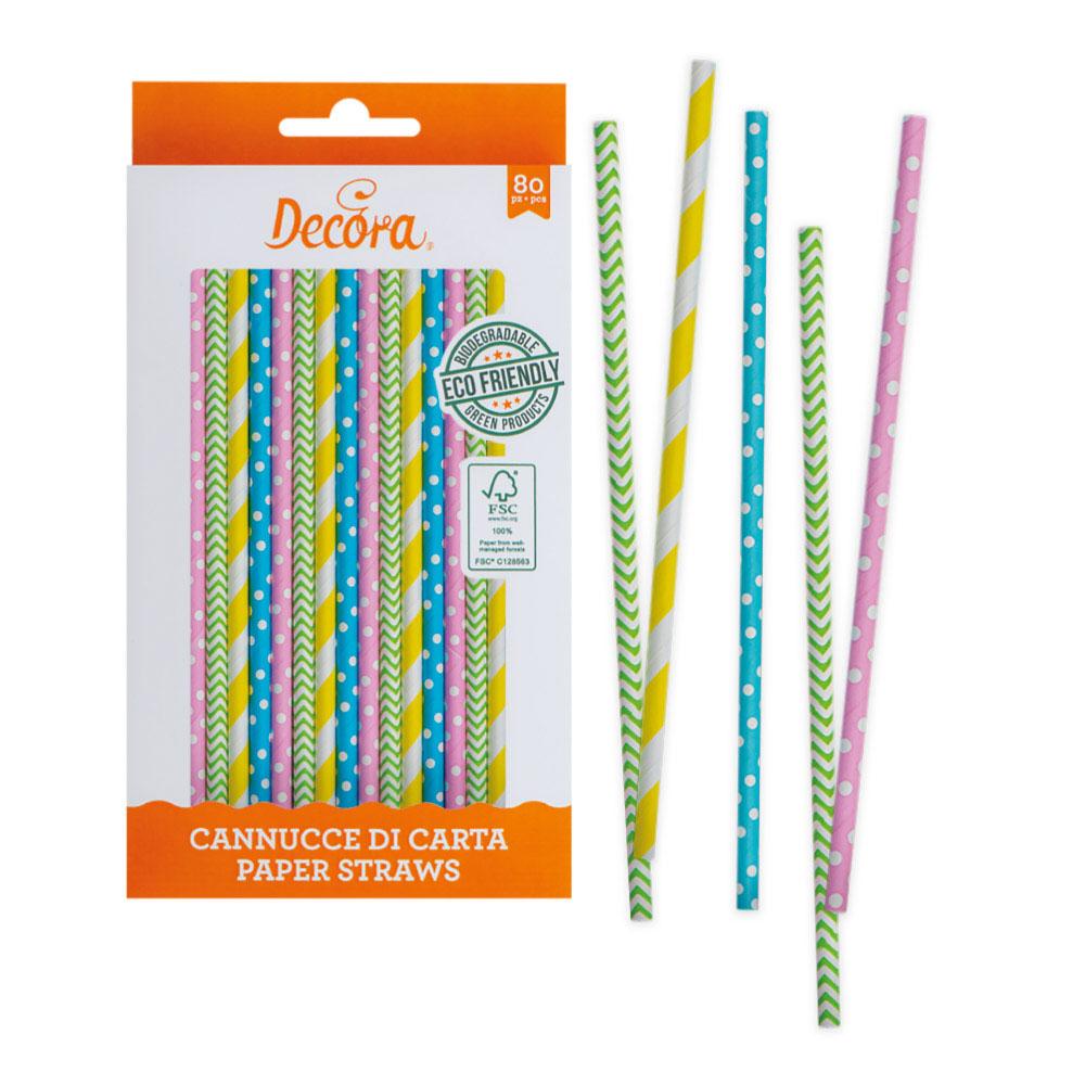 spring paper straws