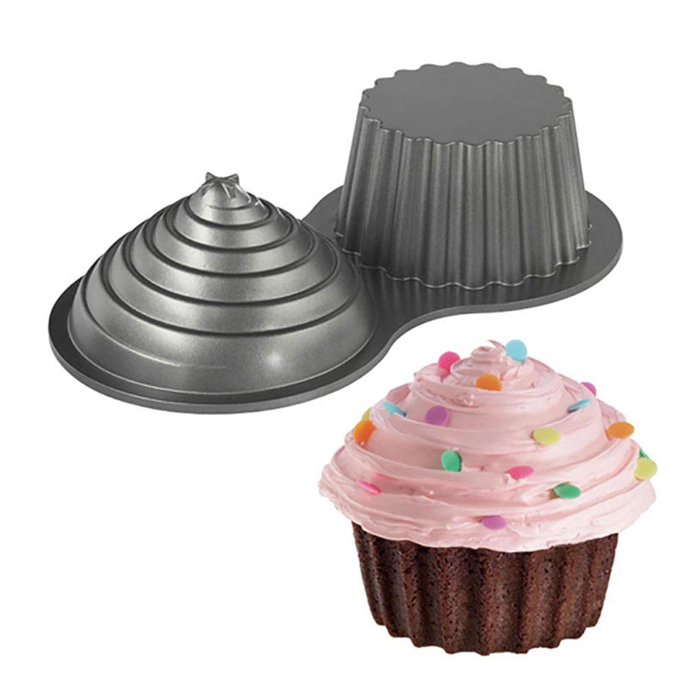 wilton giant cupcake cake tin