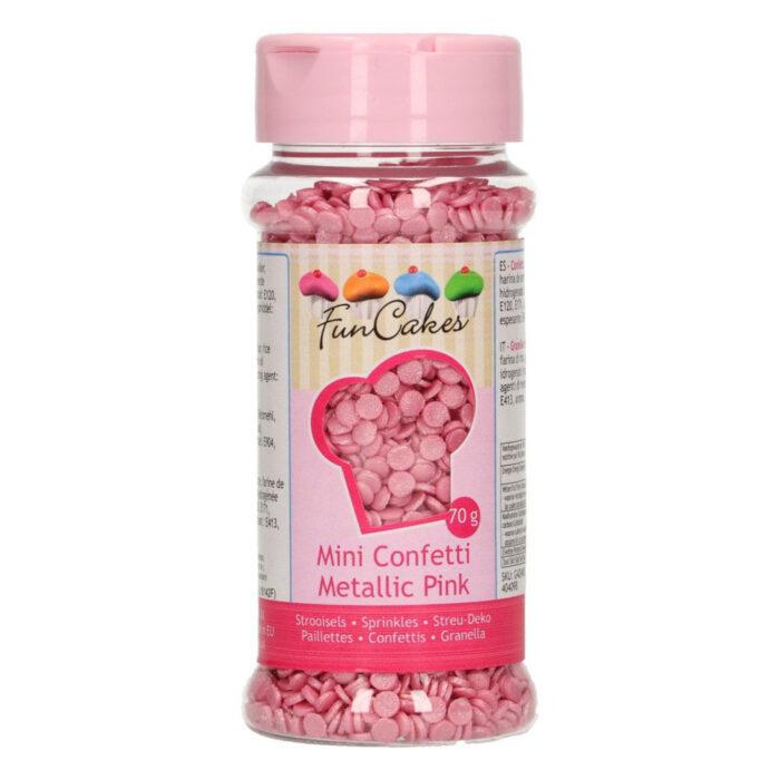 pink confetti sprinkles