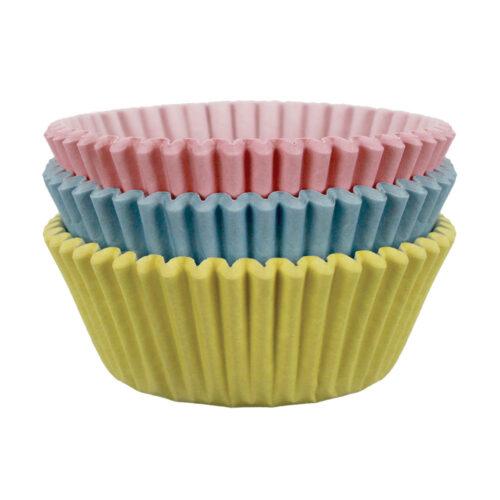 pastel cupcake cases