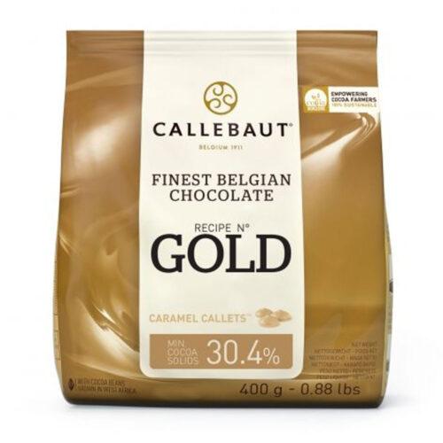 Callebaut gold chocolate 400g