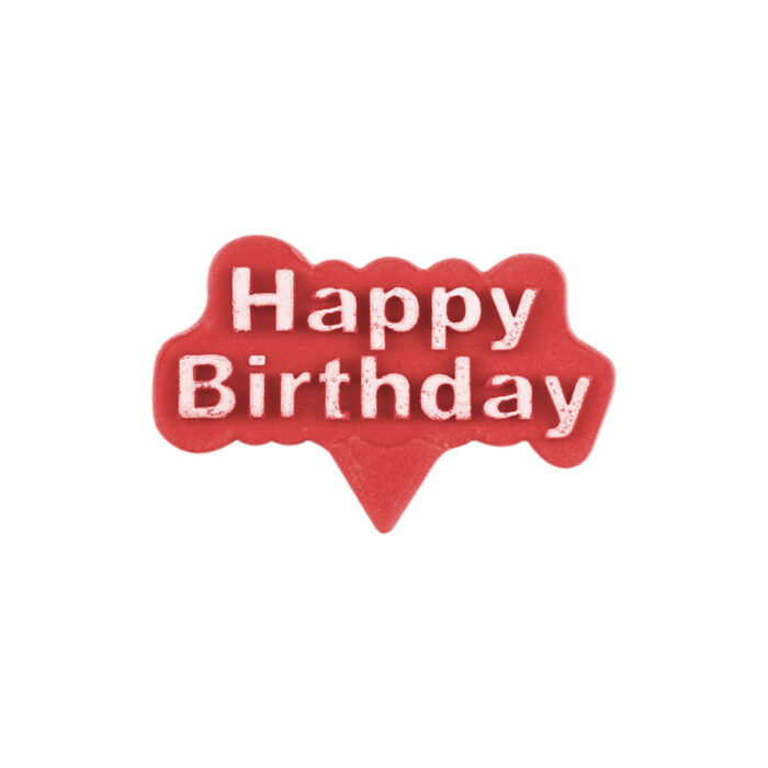 Happy birthday plunge cutter