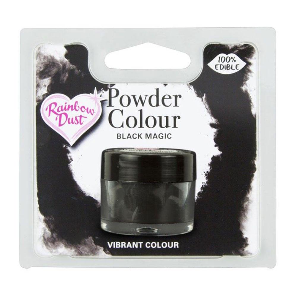 rainbow dust black magic colour