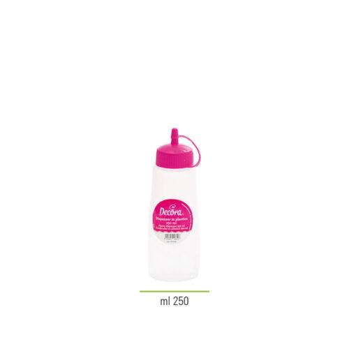 decora plastic squeeze bottle 250ml