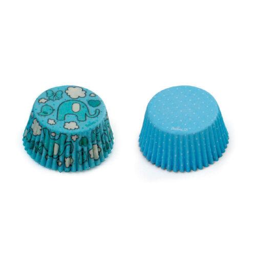 decora blue cupcake cases