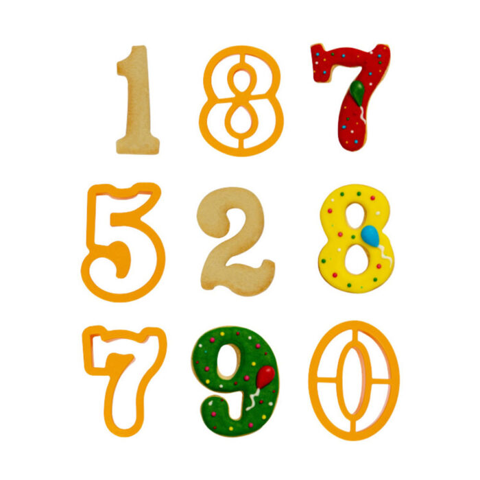 decora extra large numbers