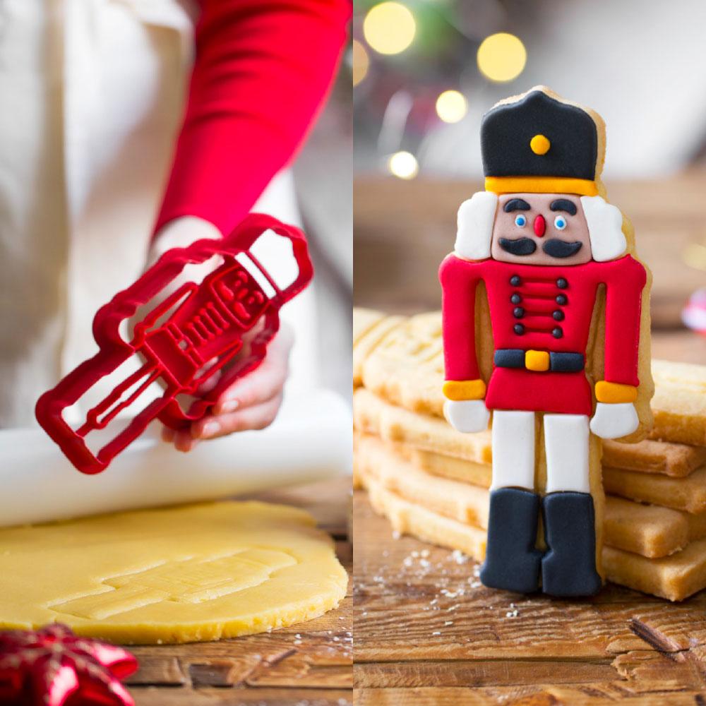 decora cookie cutter nutcracker