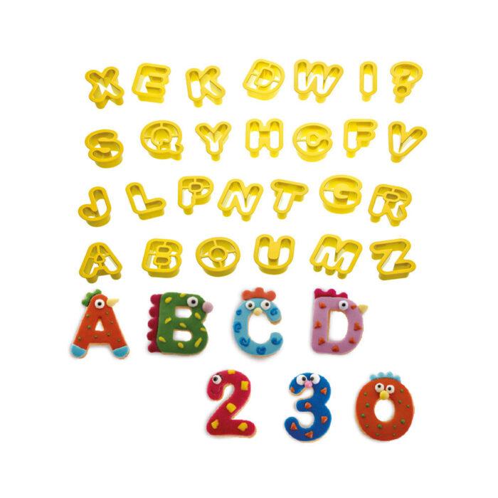 mini letter and nubmer set