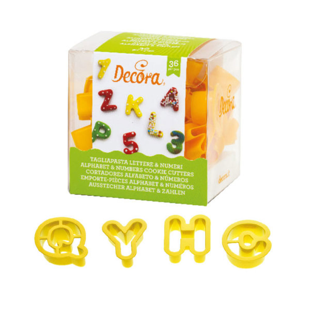 mini letter and number set