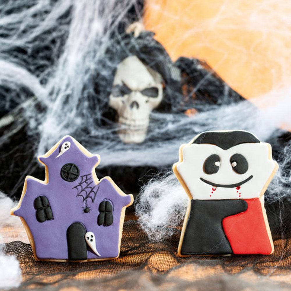 decora halloween cookie cutter