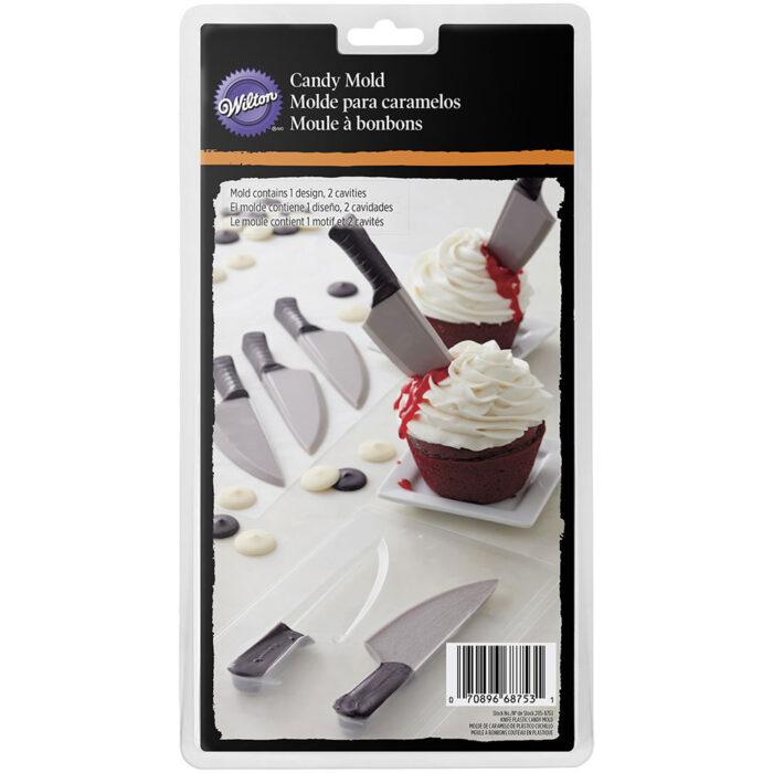 wilton chocolate knife mould