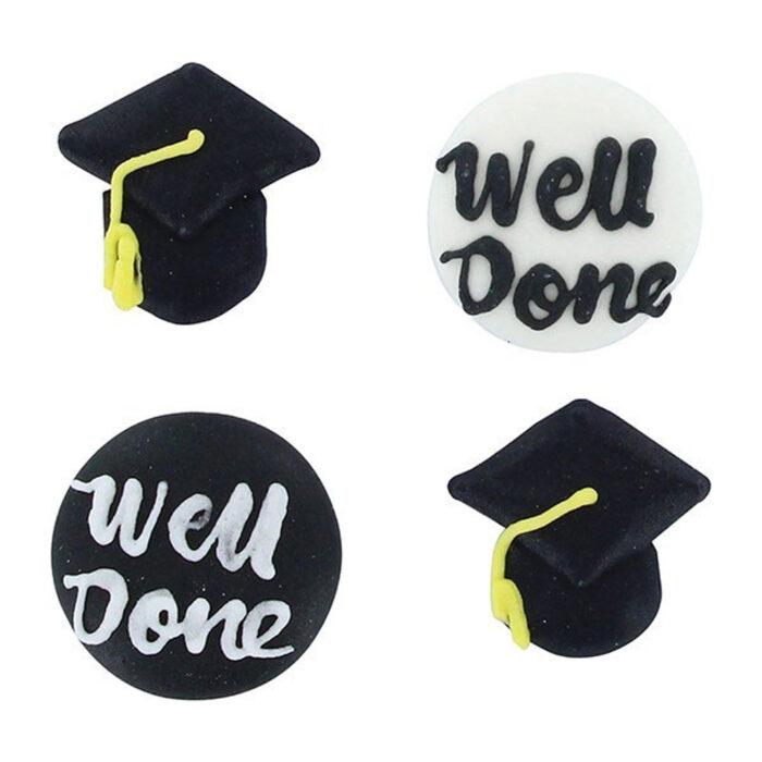 graduation sugar decorations