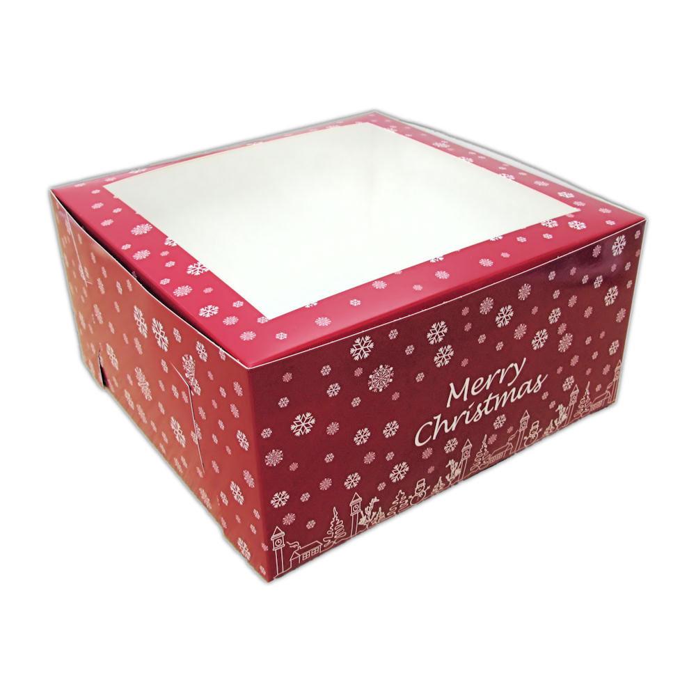 """christmas cake box 10"""""""