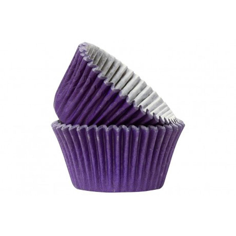 purple cupcakes cases