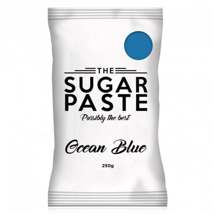 the sugarpaste ocean blue