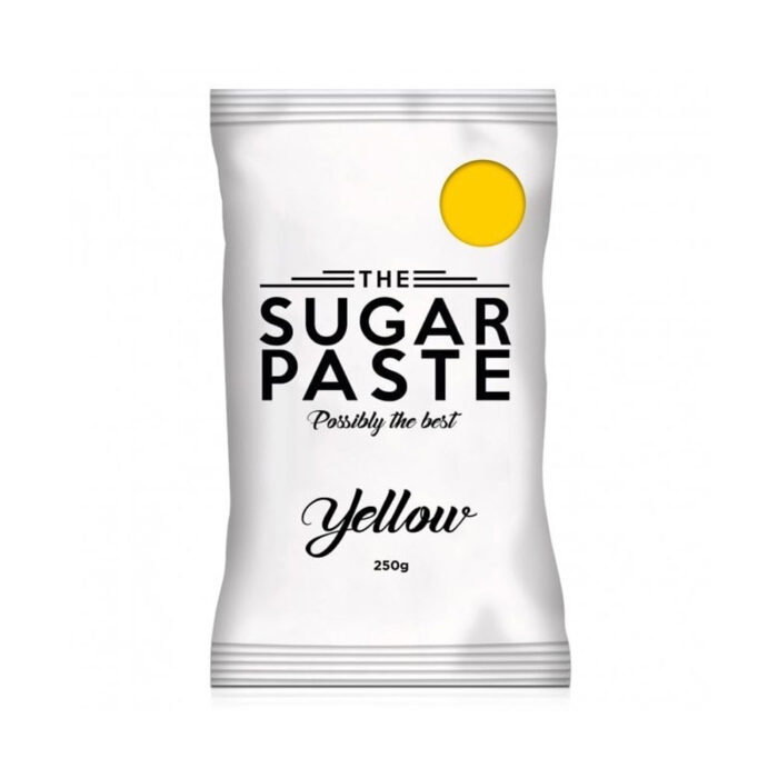 the sugarpaste yellow