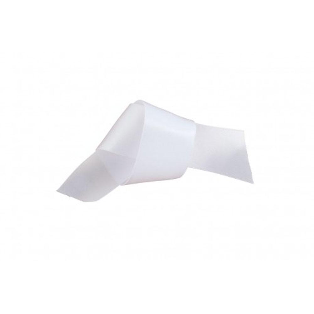 white ribbon 25mm