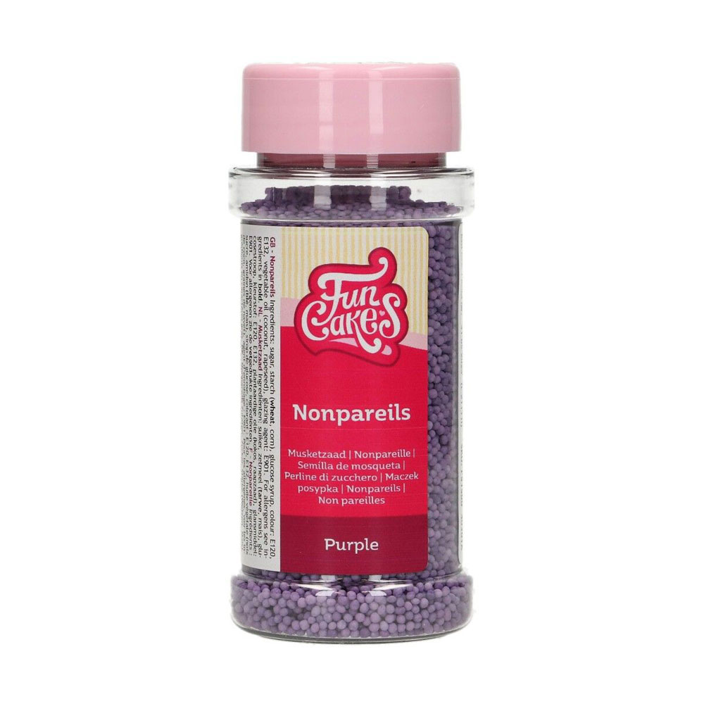 purple 100's and 1000's sprinkles