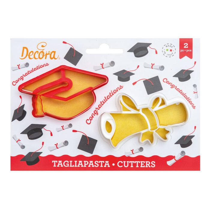 decora graduation cookie cutter