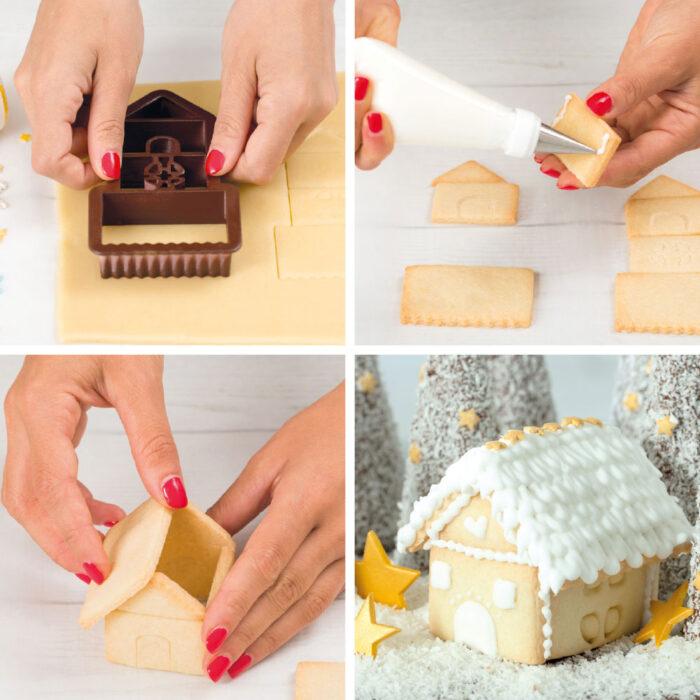 decora gingerrbead house mini