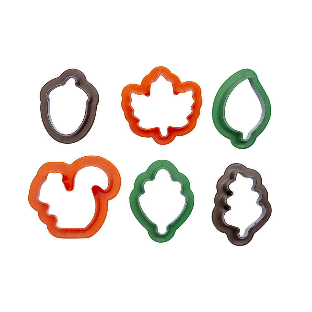 decora mini cutters leaves