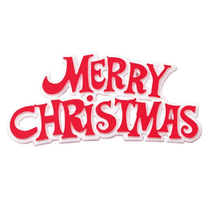 merry christmas cakr topper