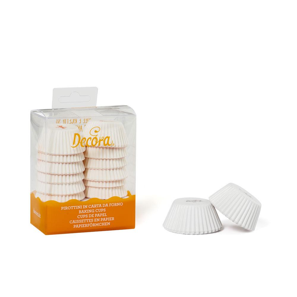 white mini cupcake case